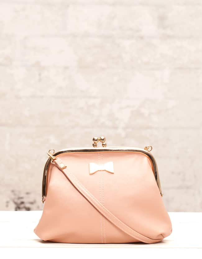 Mini bag with bow