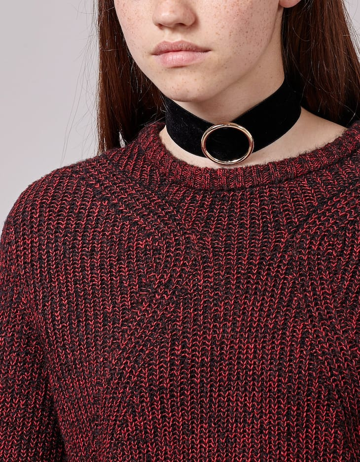Set of 3 wide and cord chokers