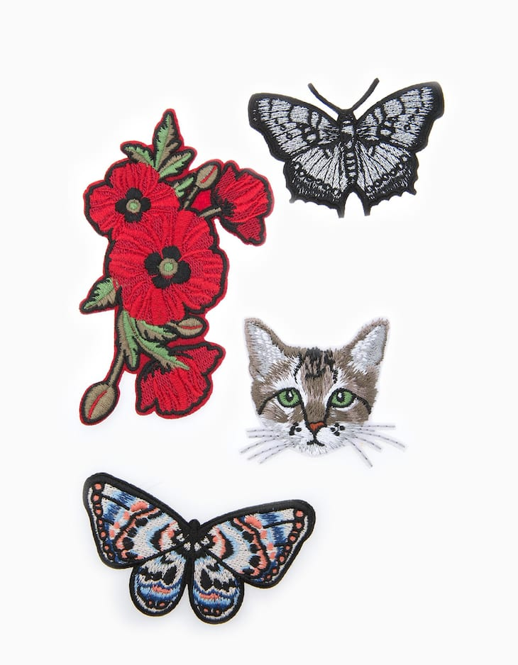Set of 4 patches