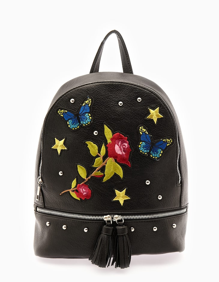 Flower patch backpack