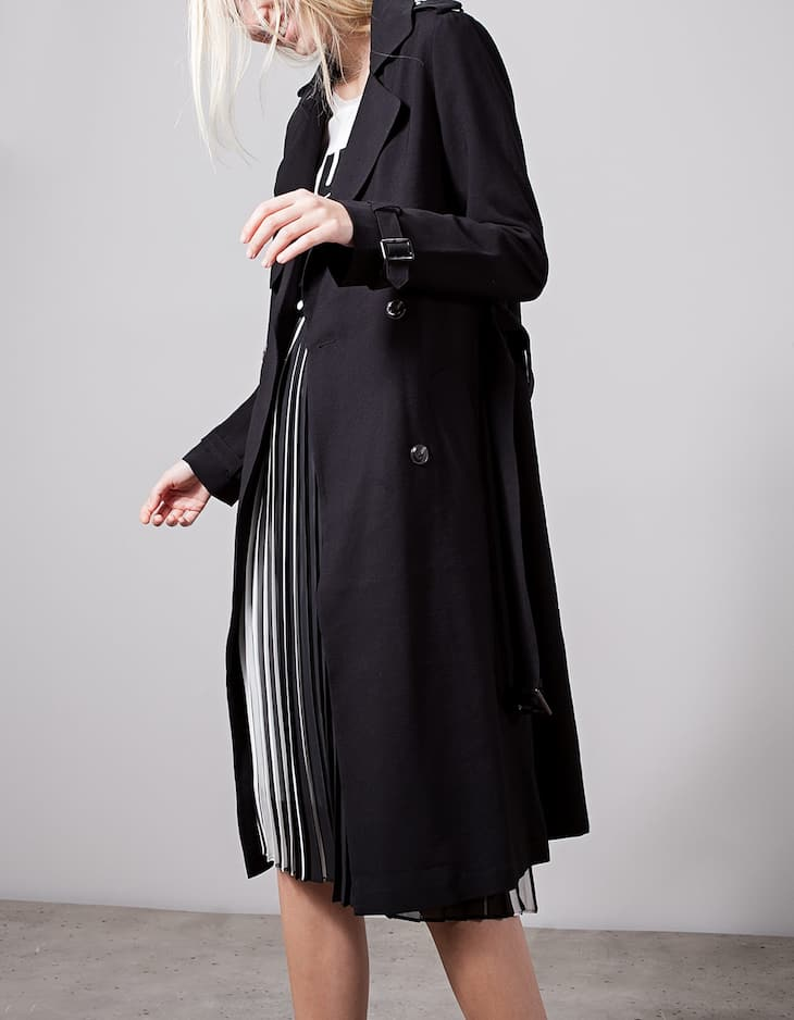 Loose-fitting Trench
