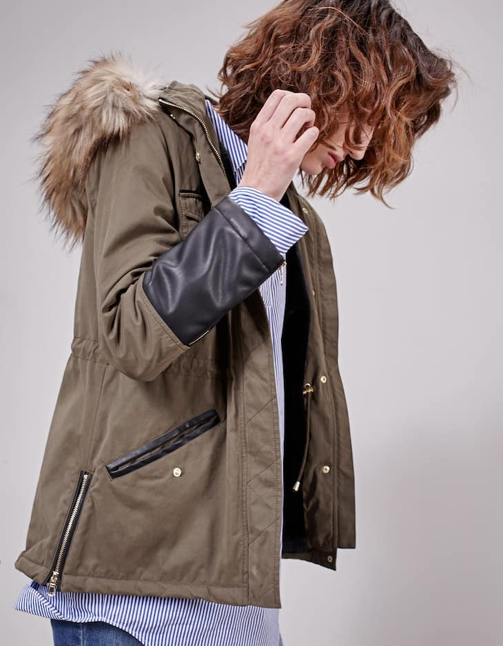 Combined parka