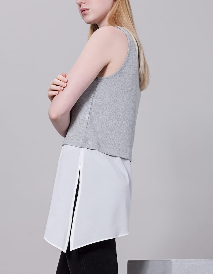 Combined asymmetrical top