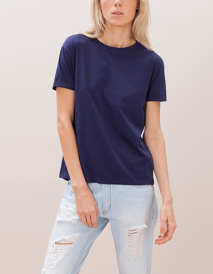 Relaxed fit top