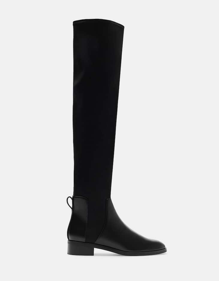 Neoprene elasticated XL boots