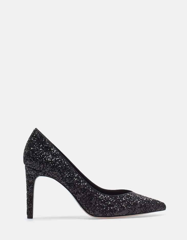 Glitter Court Shoes