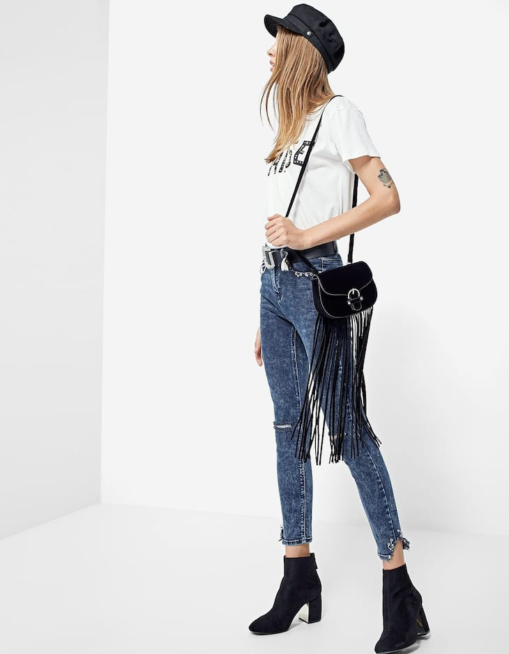 Denim high waist