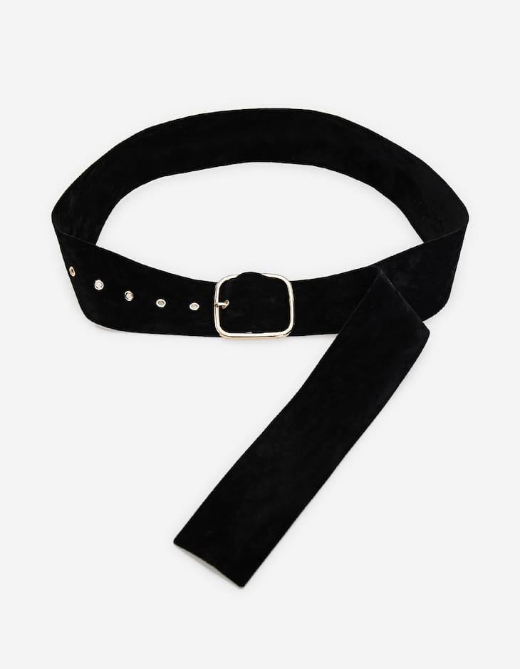 Smart velvet belt