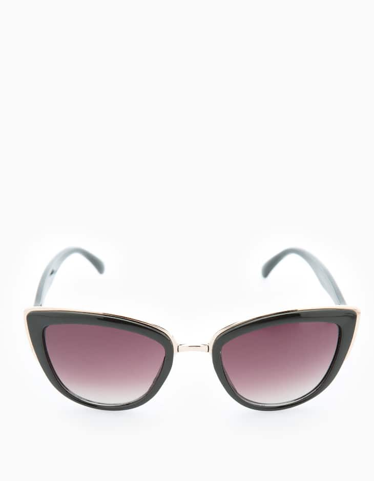 Gafas cat eye detalle bordado