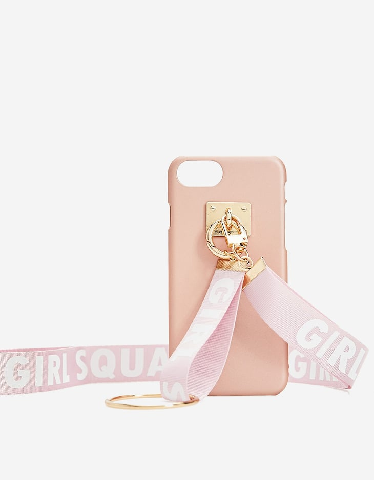 MOBILE PHONE COVER KEYRING WORD (IPHONE 6)