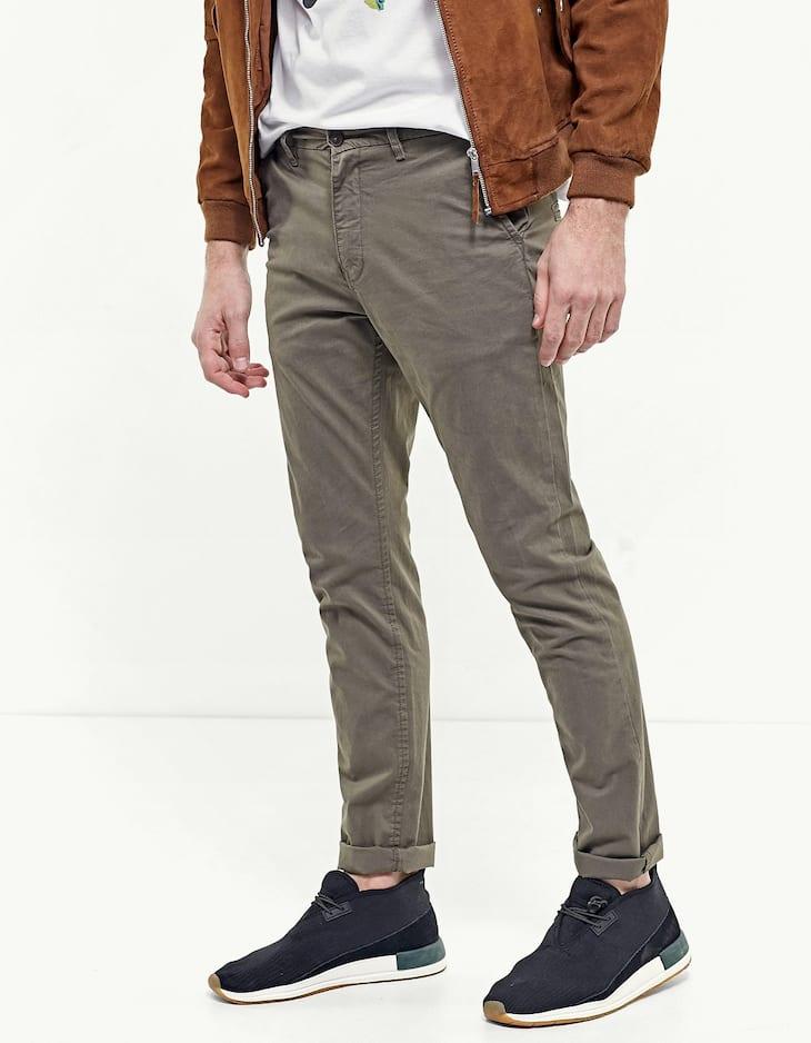 Базовые брюки чинос