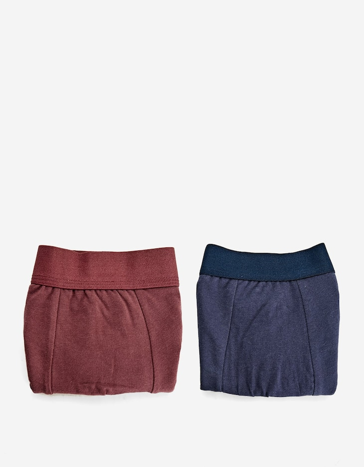 2-pack of boxers with side stripe