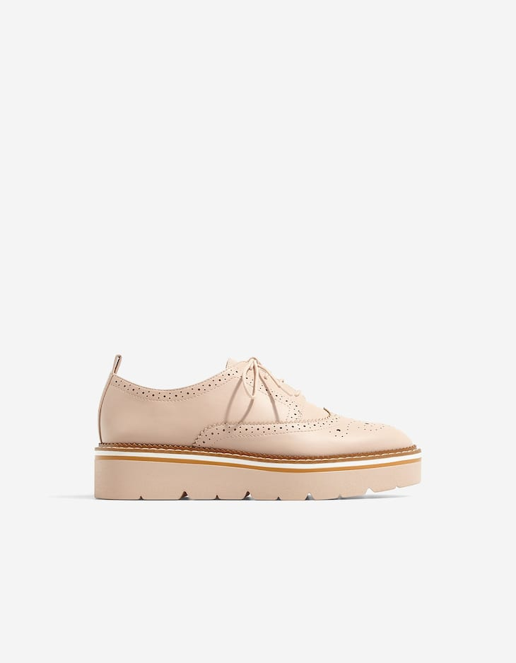 Brogues with EVA sole