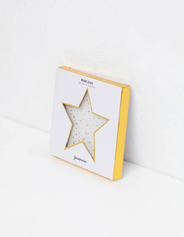 Star-shaped ceramic tray