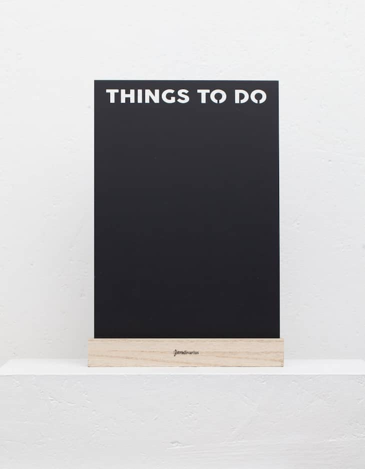 Things to do board