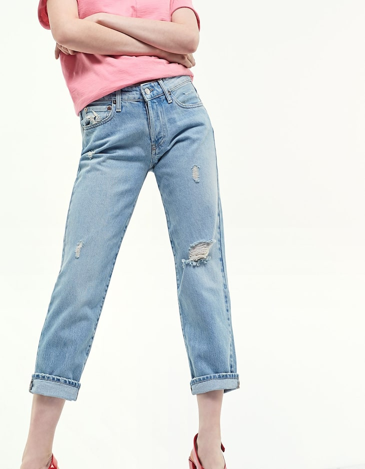 Vintage straight fit jeans