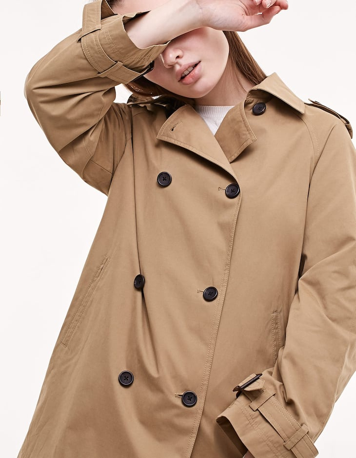 Parka cut trench