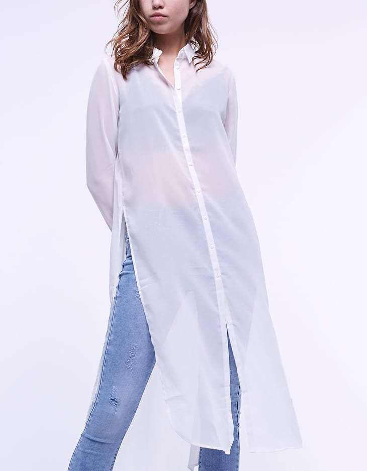 Long flowing shirt
