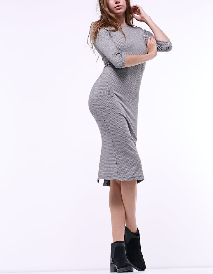 Structured tube dress