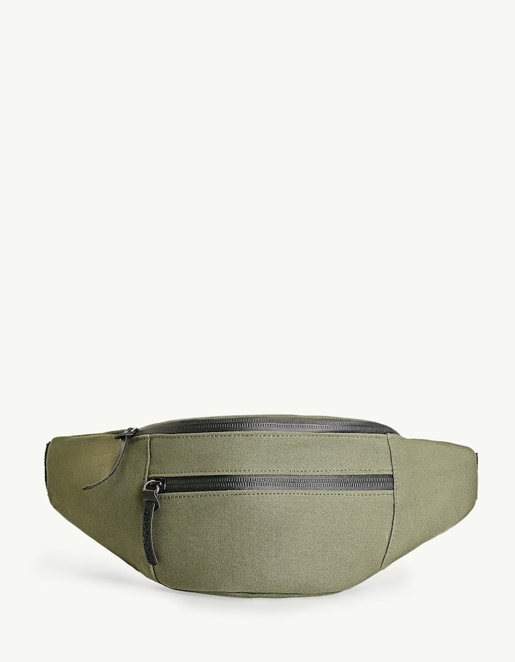 Zipped thermo-sealed fanny pack