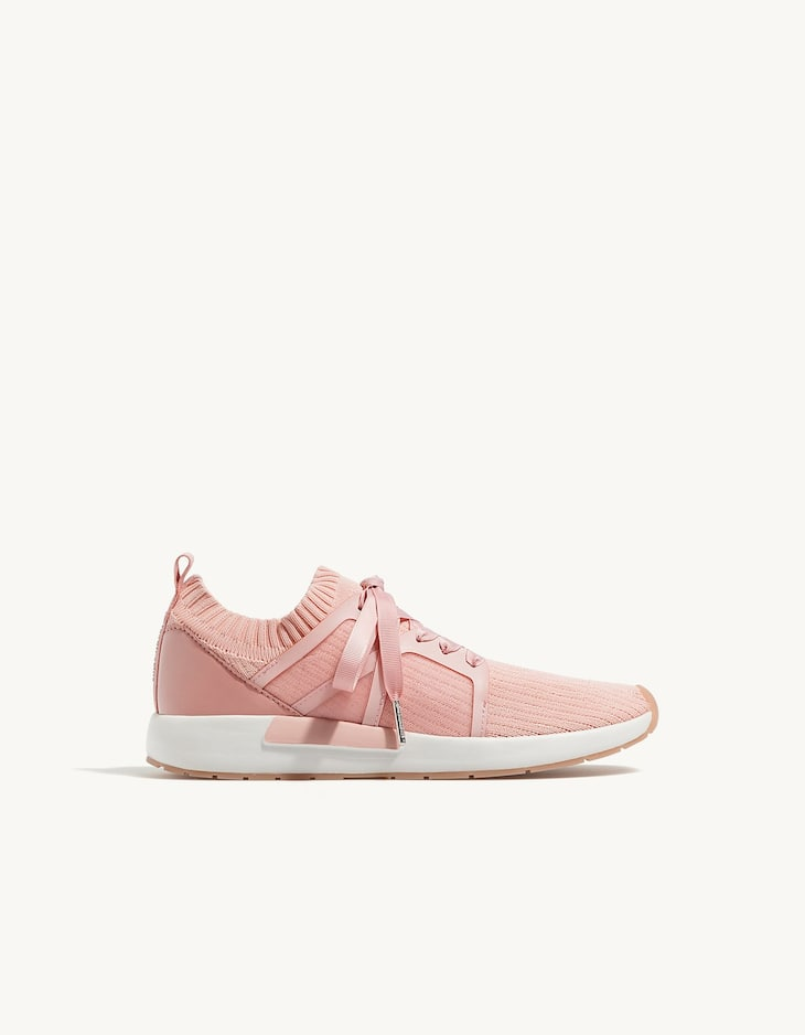 Fabric fashion sneakers
