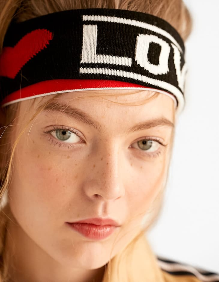 Pack of 3 sporty headbands