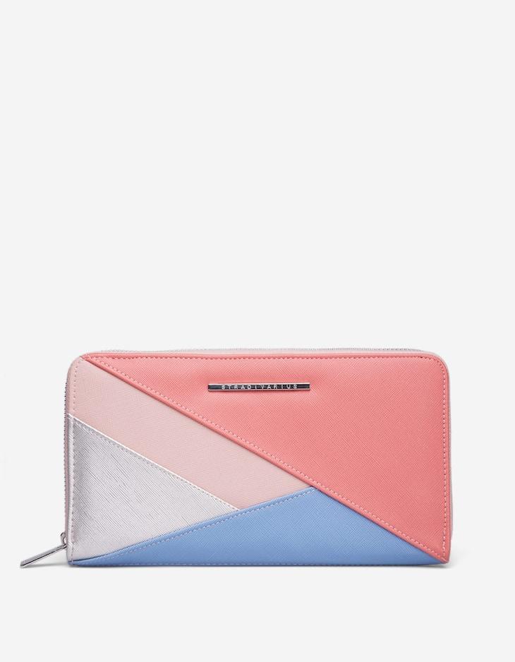Patchwork travel purse