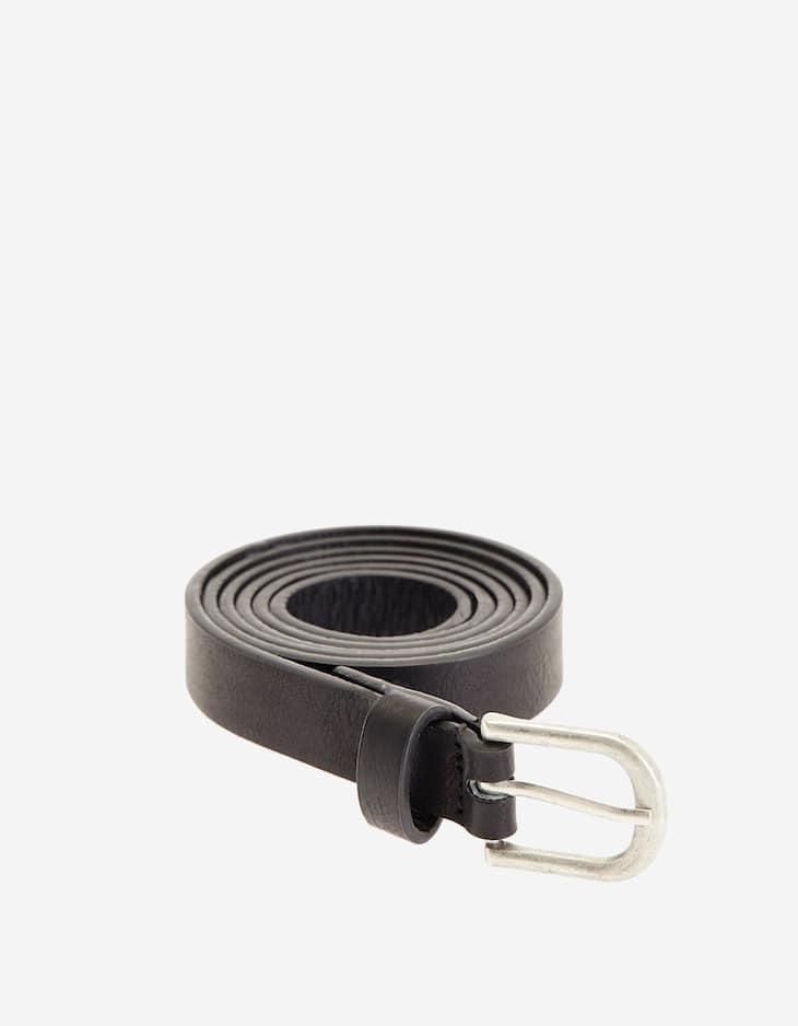 Thin solid belt