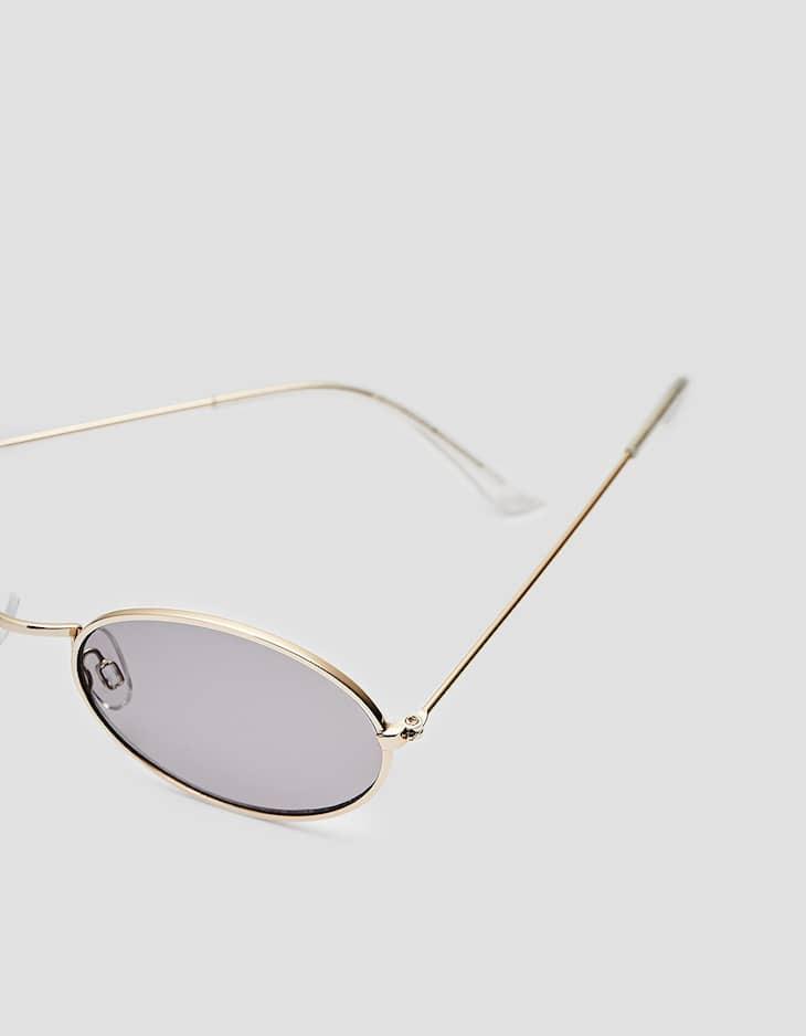 Kleine Sonnenbrille aus Metall