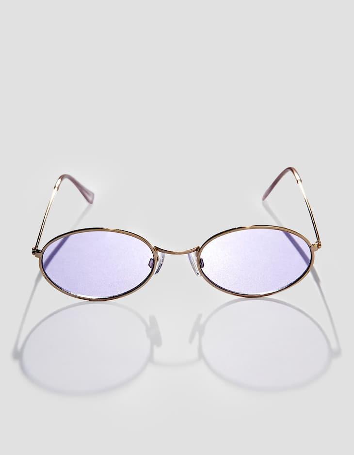 Gafas pequeñas metal