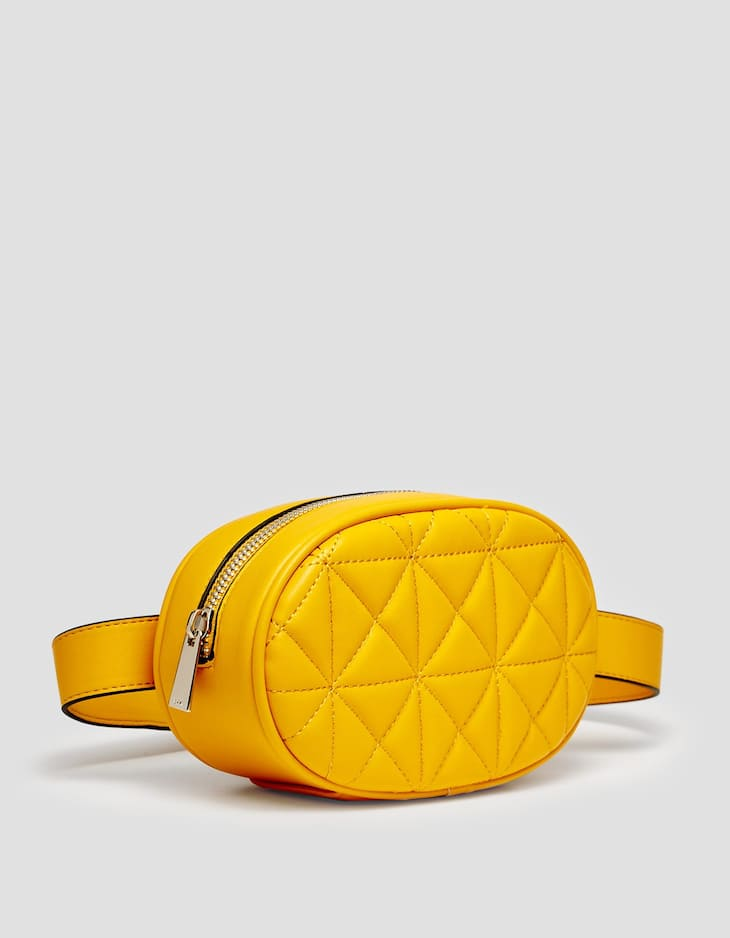 Quilted belt bag