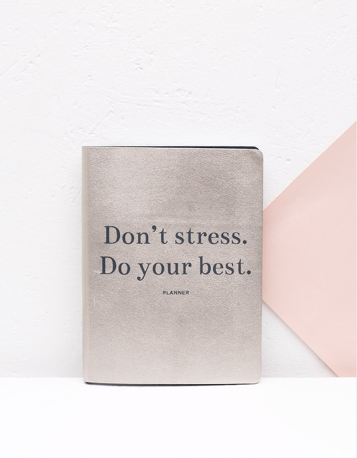Planner Don't stress do your best