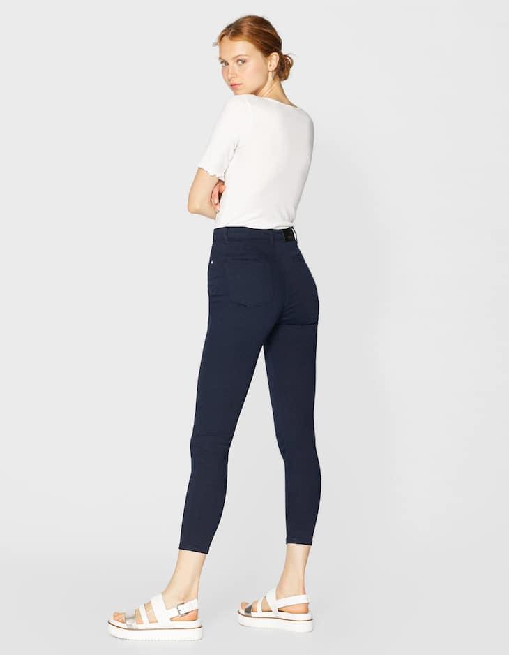 Pantalón super high waist color