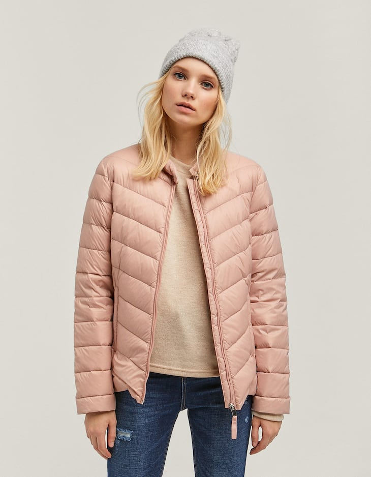 Extra light down puffer jacket