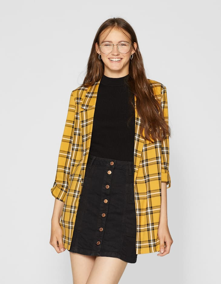 Mini Check Blazer