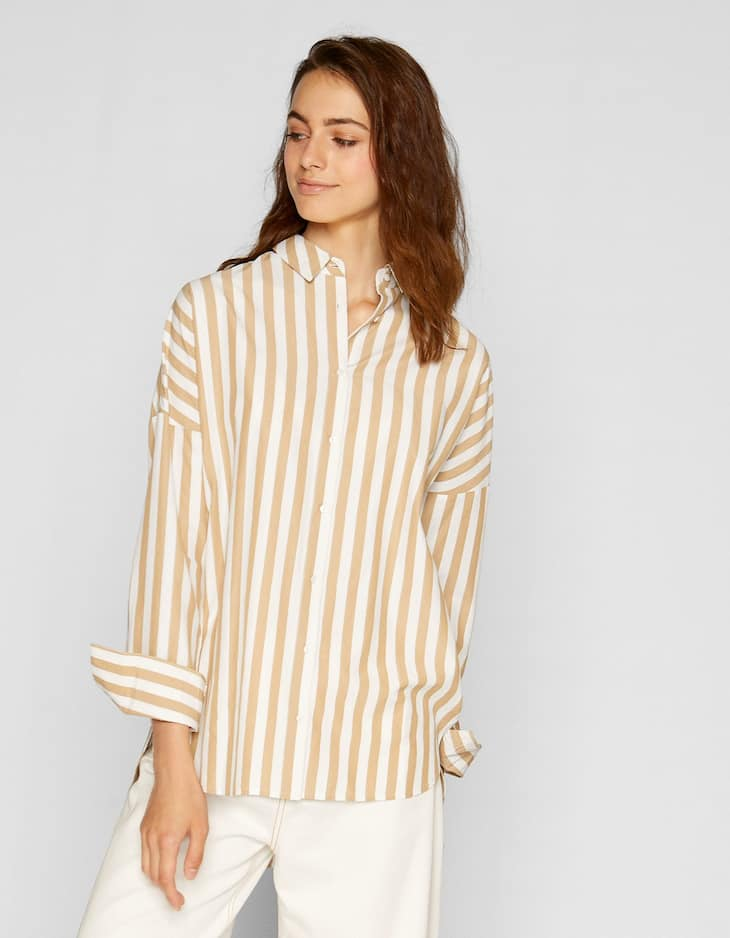 Oversized overhemd
