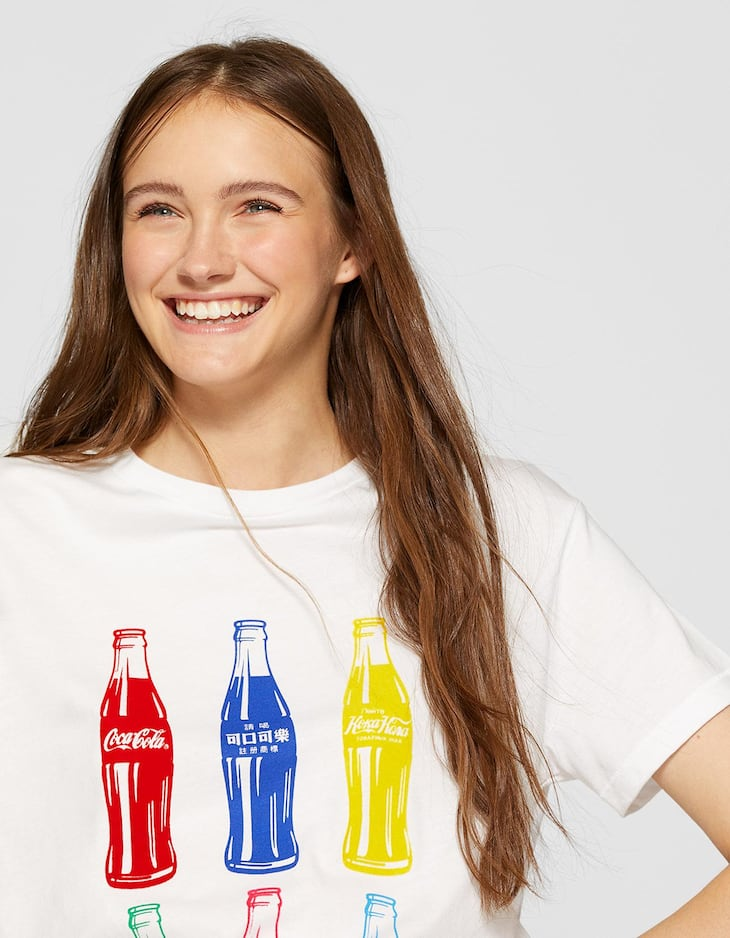 Coca-Cola bottle T-shirt