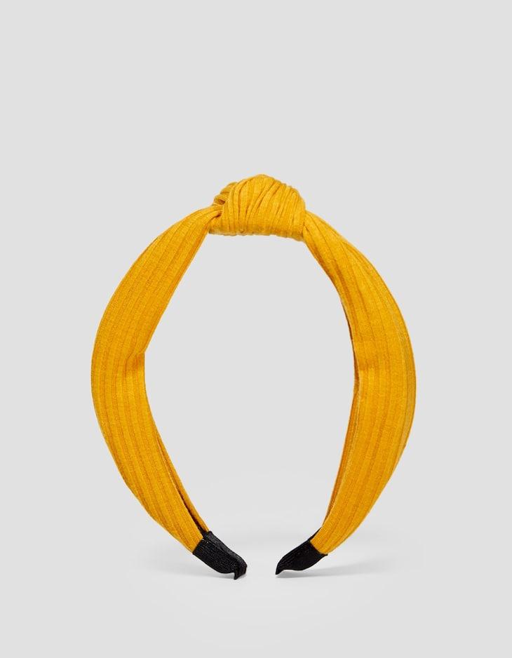 Stevige effen haarband