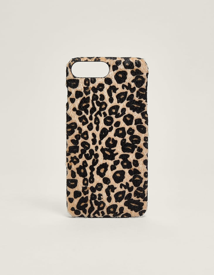 Leopard iPhone plus case