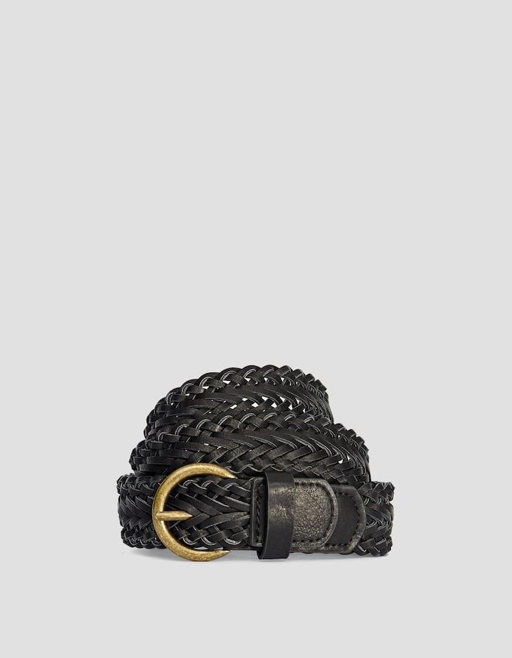 Cinturón básico trenzado