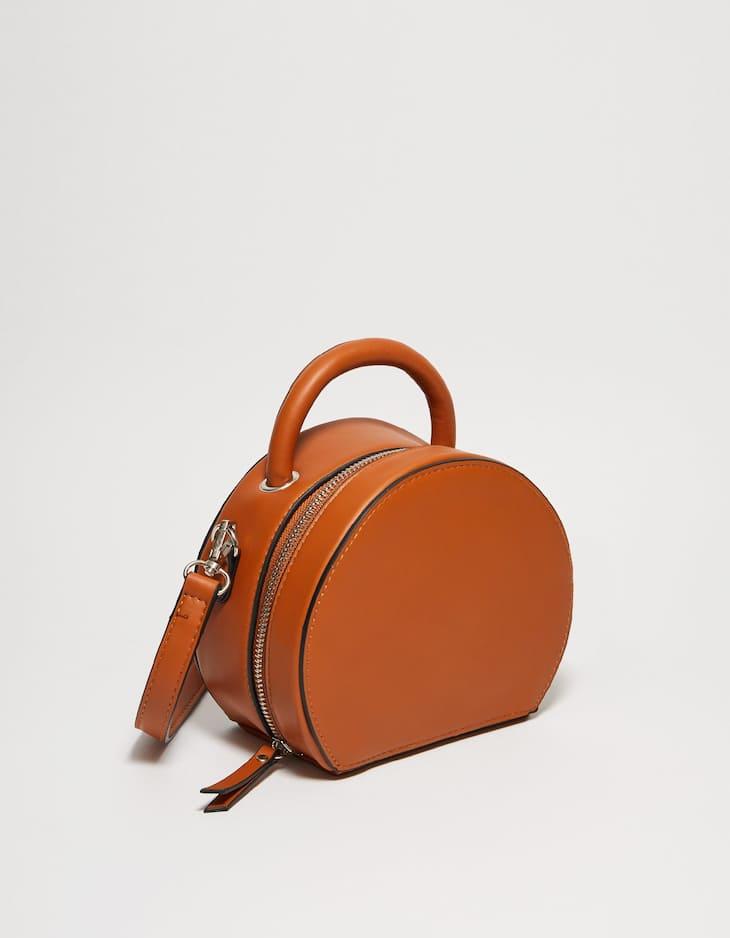 Kastenförmige Tasche