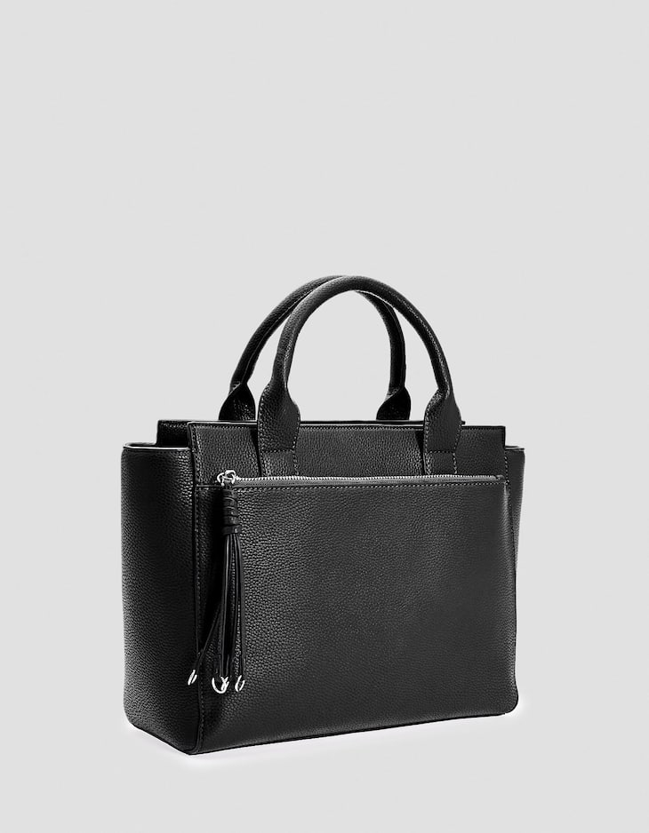 Medium structured tote bag