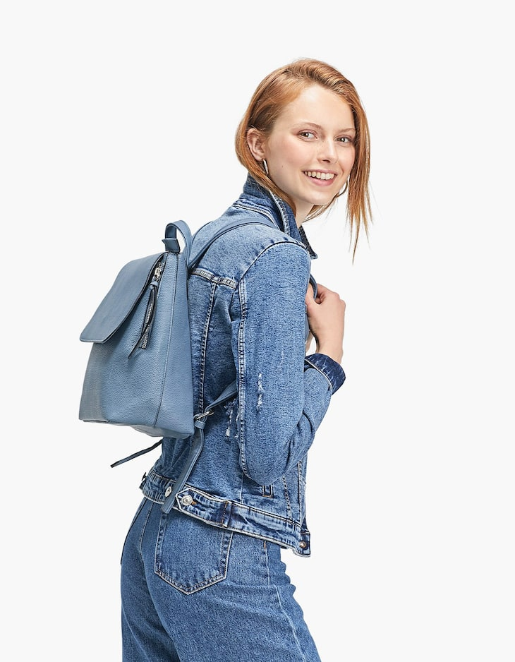 Mini Zipper Back Pack