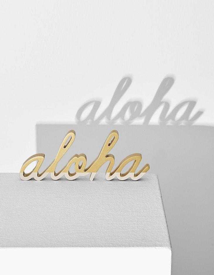 'Aloha' sign