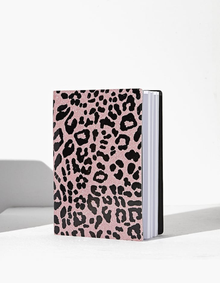 Planner leopardo glitter