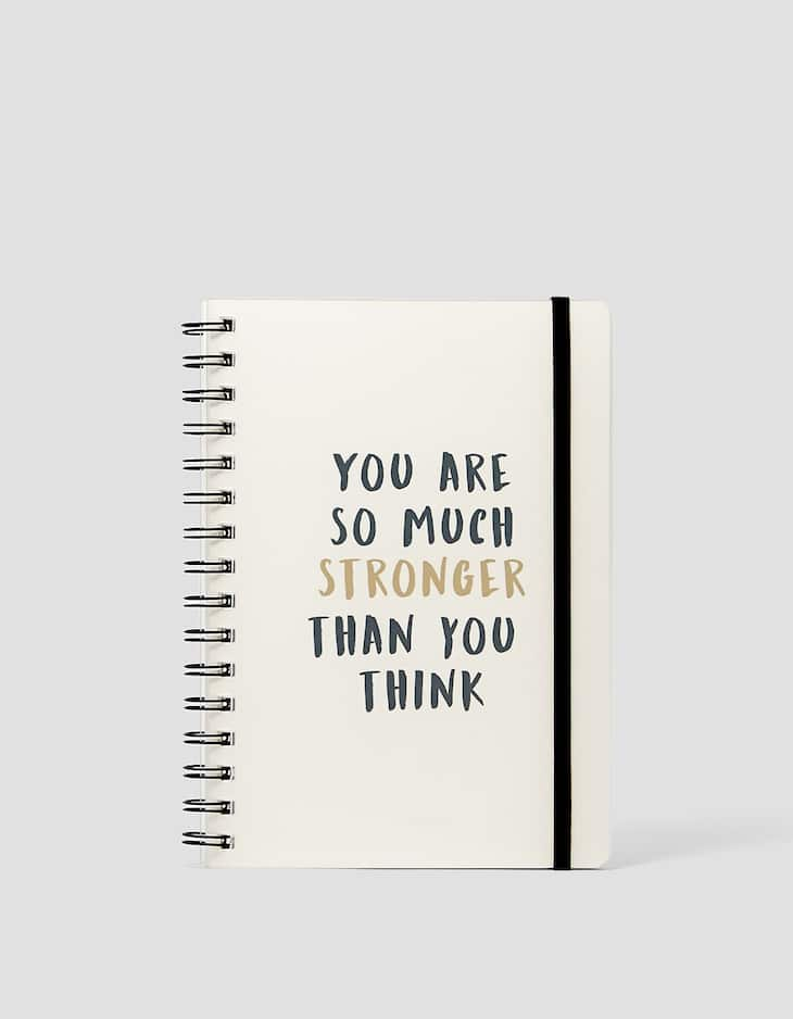'You are so much stronger' planner