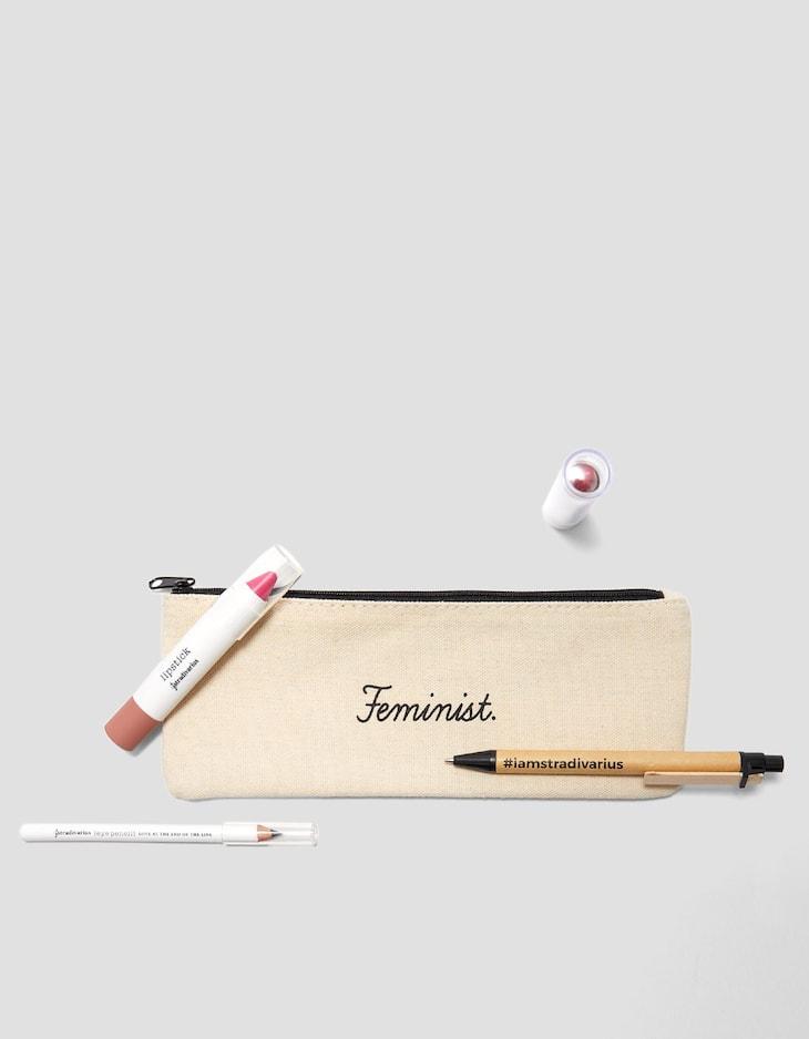 Feminist pencil case