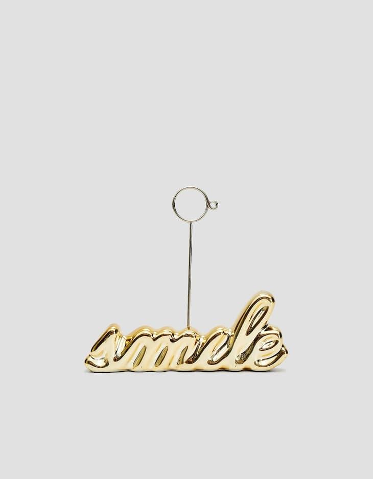 Photoholder smile