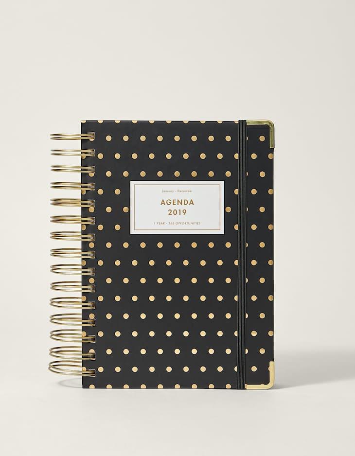 Polka dot 2019 diary