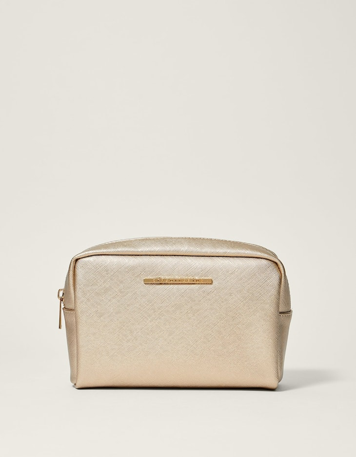 Saffiano toiletry bag